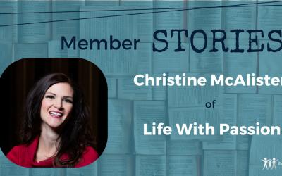Member Story #1 – Christine McAlister