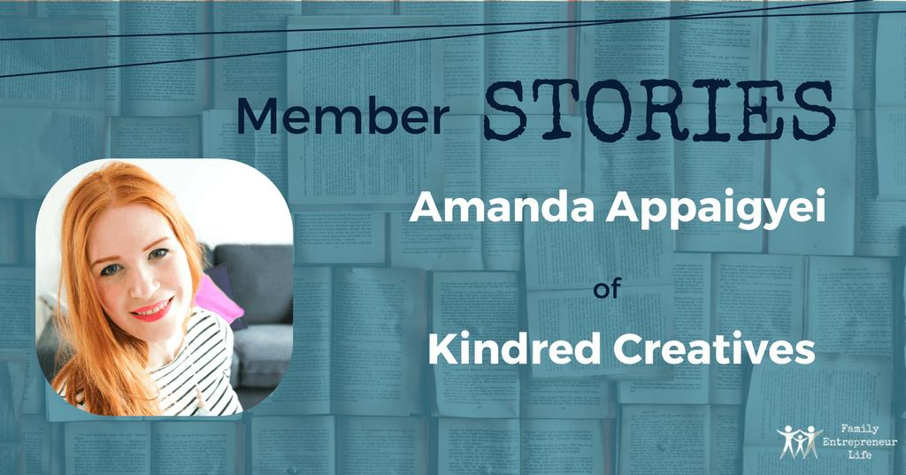 Member Stories #16 – Amanda Appaigyei