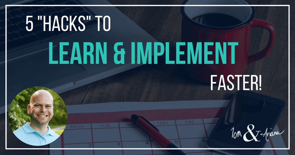 5 Hacks to Learn & Implement Faster Banner