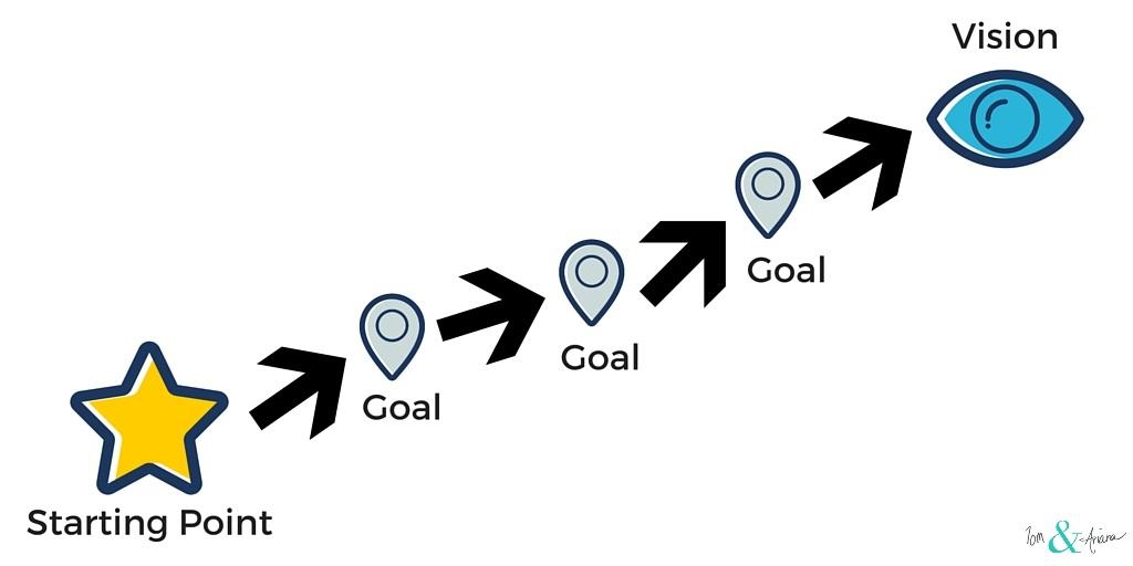 Starting Point - Goal - Vision