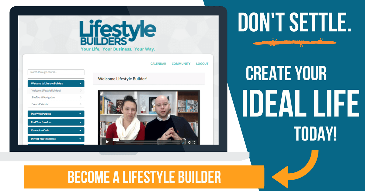 Lifestyle Builder Banner Join CTA