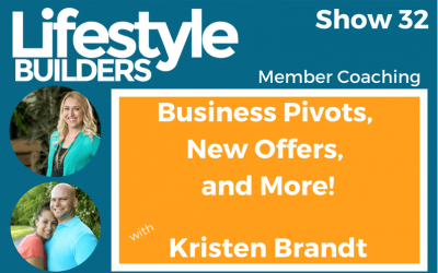 Business Pivots, New Offers, & More w/ Kristen Brandt