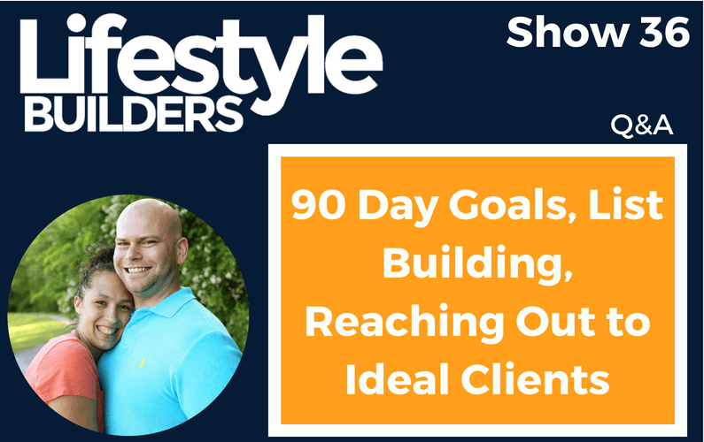 Q&A – 90 Day Goals, List Building, Reaching Out to Ideal Clients