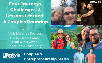 Four Journeys, Challenges, and Lessons Learned: A Couples Roundup